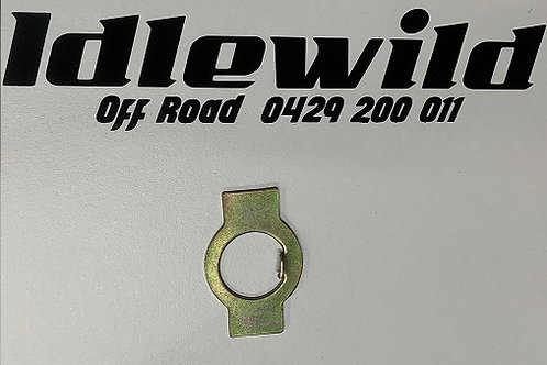 VW BUG FRONT SPINDLE HEX NUT LOCK PLATE 1949-1965, EACH