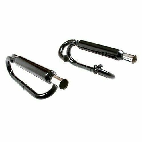 Black Buggy Dual Exhaust System