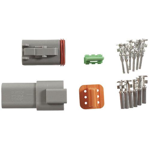 6 pin Deutsch Connctor set (Standard Crimp style)
