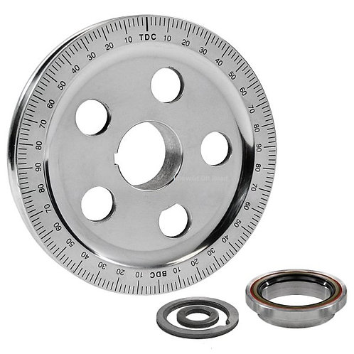VW Sand Seal pulley (Alloy finish, Black available)