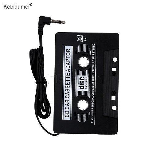 Ol' Skool Car Cassette Tape Stereo Adapter  3.5mm Jack Plug  for Smart Phone