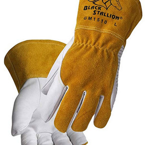 BSX Black Stallion Comfortable & High-Dexterity MIG/TIG Welding Glove (X-Large)