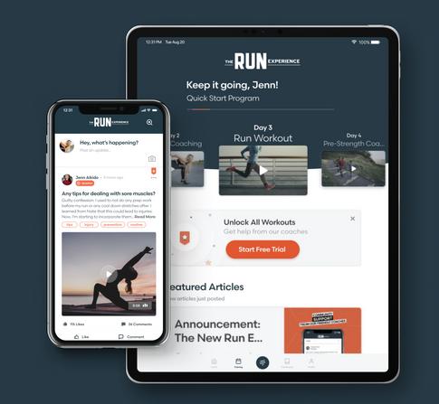 Ongo iOS App: The Run Experience