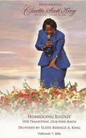 B. King delivers Eulogy of Coretta Scott King-CD