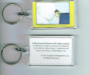"""Monumental Moments"" Key Chain"