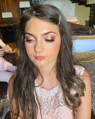 maquillage demoiselle d'honneur, mariage