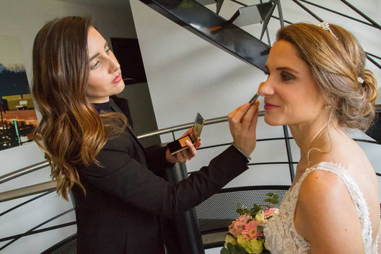 maquillage mariage, mariée, backstage, maquilleuse professionnelle