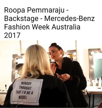 Fashion week Sydney, mode, défilé, maquilleuse professionnelle