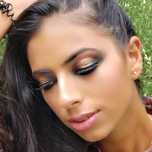 Maquillage sophistiqué