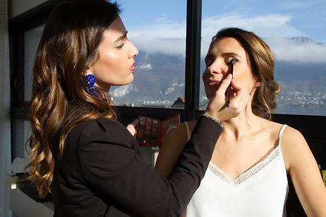 cours de maquillage, atelier auto-maquillage