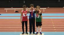 Santiago Martínez Boado subcampeón de Madrid salto de altura y longitud