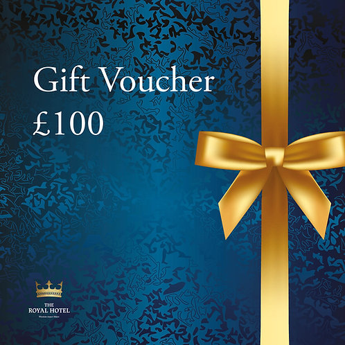 The Royal Hotel Gift Voucher £100