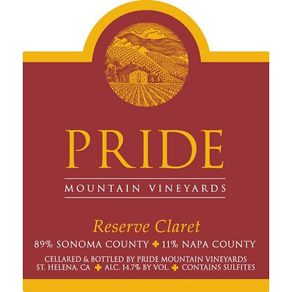 *2006 Pride Mountain Reserve Claret