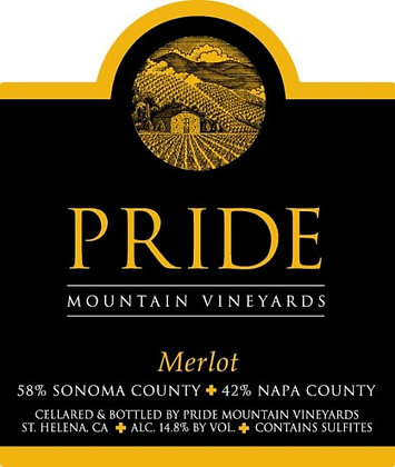 *Pride Mountain Merlot