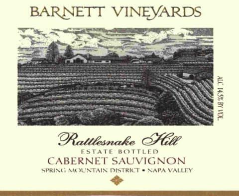 *Barnett Rattlesnake Cabernet Sauvignon