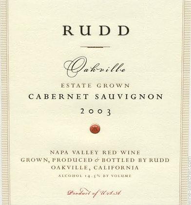 *Rudd Oakville Cabernet Sauvignon