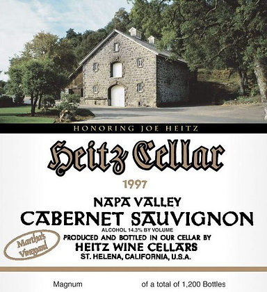 *1997 Heitz Martha's Vineyard Honoring Joe Heitz Cabernet Sauvignon