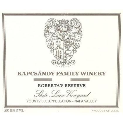 *2013 Kapcsandy Roberta's Reserve