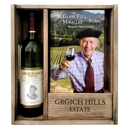 *Grgich Hills Paris Tasting 40th Anniversary Gift Box