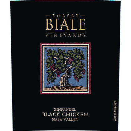 *Robert Biale Black Chicken Zinfandel