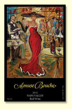*2012 Amuse Bouche Proprietary Red