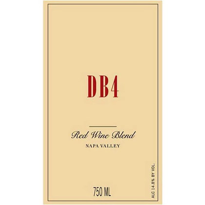*2013 Bryant Family DB4 Red Blend
