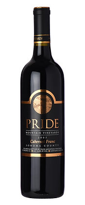 *Pride Mountain Cabernet Franc