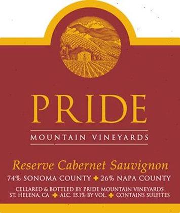 *2004 Pride Mountain Reserve Cabernet Sauvignon