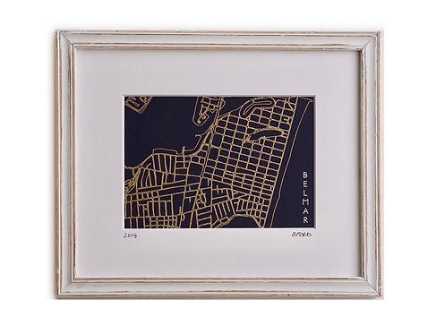 Belmar Street Map