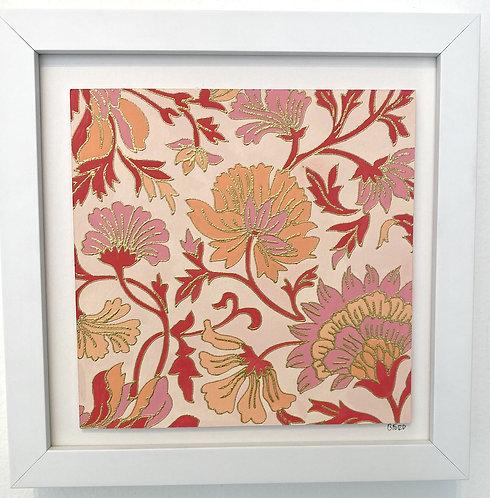Blockprint Floral III