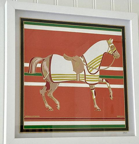 Hermes Horse Scarf