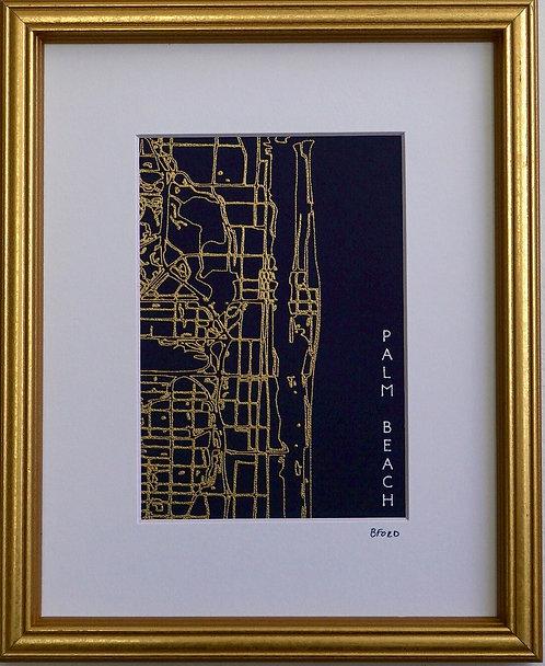 Palm Beach Street Map