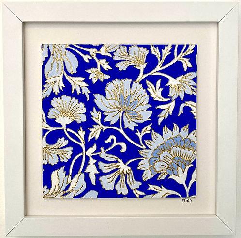 Blockprint Floral I