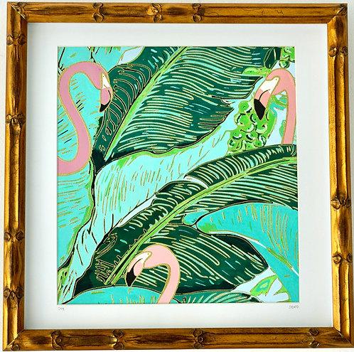 Flamingo Jungle II