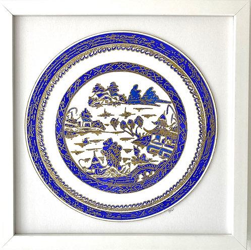 Japanese Blue Plate