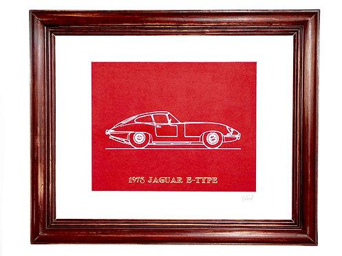 Car Portrait - Red/White