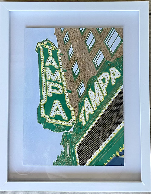 Tampa Theatre Painted