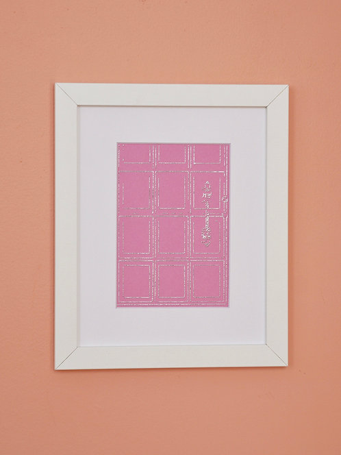 Pink & Silver Door