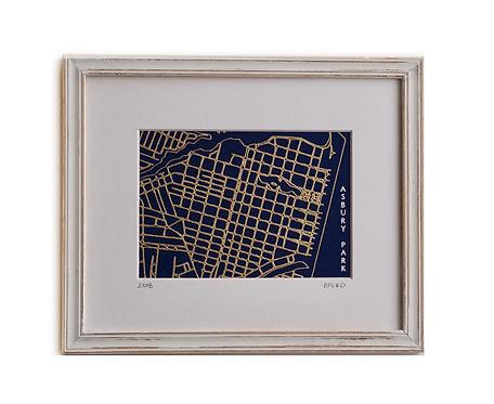 11x14 Street Map