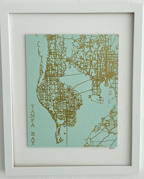 Tampa Bay Street Map