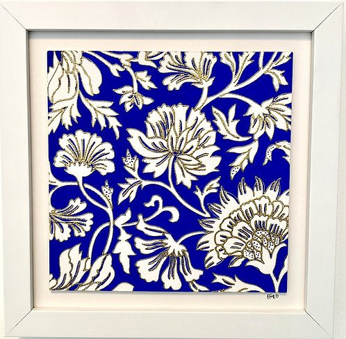 Blockprint Floral II