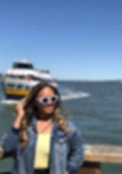 Girl at Pier 39 in San Francisco