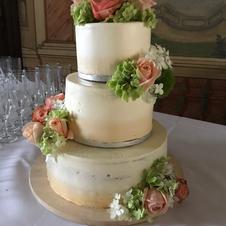 Hochzeitstorte Ombre Style