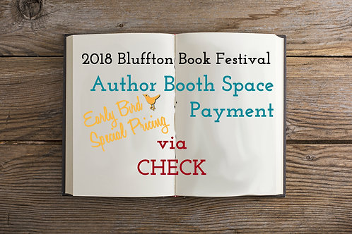 2018 Author - Early Bird Check Payment