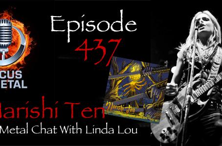 Linda Lou of Marish Ten this week on Focus on Metal