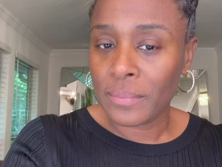"""How to use our eye cream """"Revive"""" demonstrated by the lovely Kim Stephens Olusanya"""
