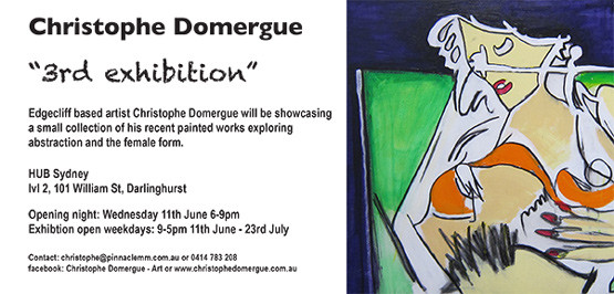 3rd Exhibition Invite