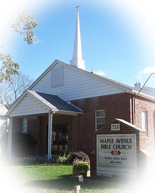 Outside of Mape Avenue Bible Church - Adrian, MI