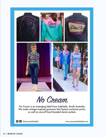 Ad featured in Gracious Mag Issue 8