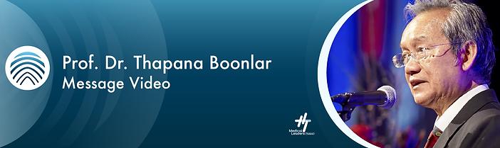 Prof. Dr. Thapana Boonlar